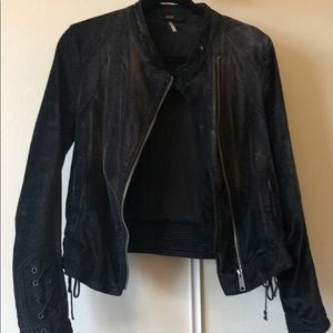 Velour black jacket from Free People